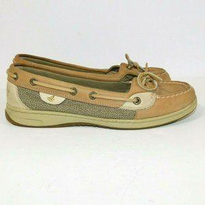 Women 8.5 Sperry Topsiders Anglefish Boat Shoe
